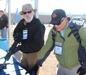 PoliceOne Editor at Large Doug Wyllie and PoliceOne Columnist Lindsey Bertomen examine the polymer handguards from Ascendance International.