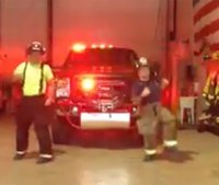 Video: Firefighters 'Nae Nae' to promote fire department