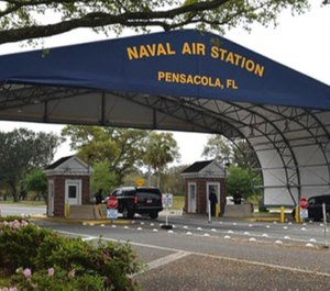 A suspect and two others are confirmed dead after a Friday morning shooting at the Pensacola Naval Air Station. (Photo/NAS Pensacola)