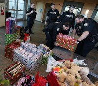 NC officers' agreement with chief provides gifts for kids in hospital