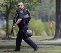 1 dead in shooting at NC college, police search for gunman