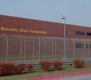This undated file photo shows the Nebraska State Penitentiary in Lincoln, Neb. (AP Photo/Daniel Luedert,File)