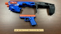 NC cops find Glock disguised as toy Nerf gun during raid