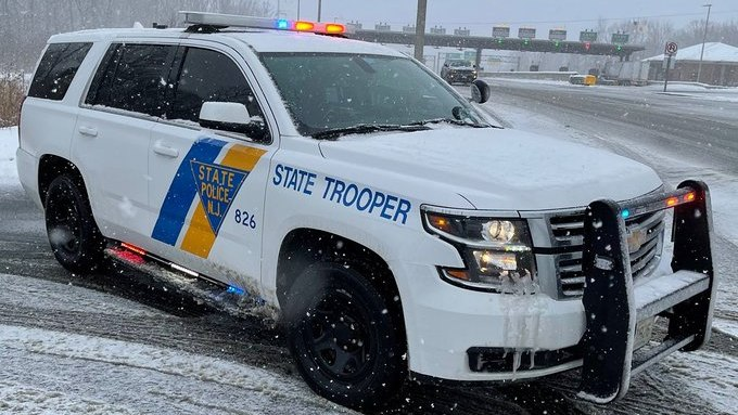 For comparison, this photo shows a standard New Jersey State Police cruiser.