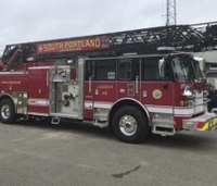 Officials: Maine fire truck damaged by power line may not be total loss