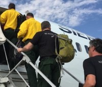 International firefighters head to US to help battle wildfires