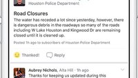 How social media assisted cops with the Hurricane Harvey response