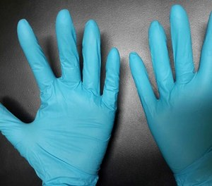 The ACMT and AACT recommend wearing standard nitrile gloves during patient contact and say opioids are unlikely to be present in the air.