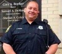 NJ officer dies of heart attack
