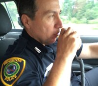 How a cop battling cancer saved hundreds during Hurricane Harvey