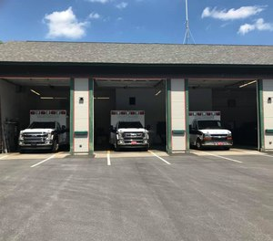 The Northshire Rescue Squad's ambulance bays are full, having adding a third, gas-powered rig to the fleet.
