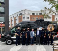Conn. police agency debuts 'roving' community outreach van