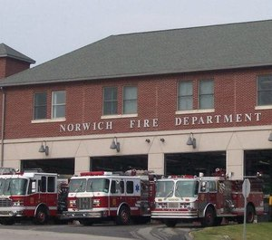 More than three dozen agencies, including the Norwich Fire Department, are working to combat opioid abuse and addiction in the Connecticut city. (Photo/Norwich Fire Department and Emergency Management Facebook)
