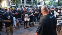 Hundreds rally for 3 Honolulu police officers accused in fatal shooting