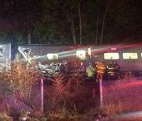 NYC train derails, dozens injured