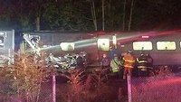 NYC train derails, dozens injured