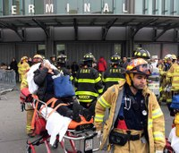 Over 100 injured in NYC commuter train crash