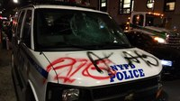 Brooklyn businesses, cop cars vandalized; fires set over Philly OIS