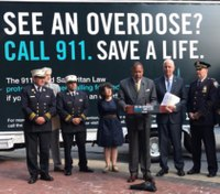 NYPD campaign focuses on good Samaritan law
