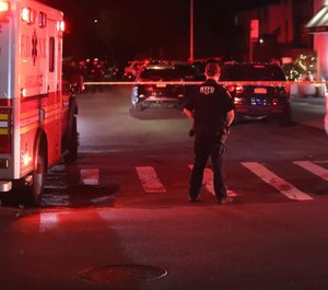 No officers were injured during a shootout with a known gang member in New York City Tuesday night. (Photo/Twitter)