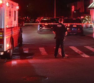 No officers were injured during a shootout with a known gang member in New York City Tuesday night.