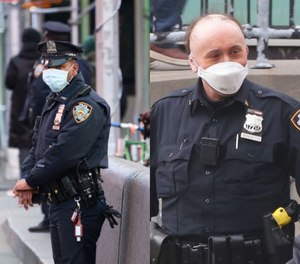 Nearly one out of every five NYPD officers was out sick Wednesday, and state and upstate local police are prepared to step in and augment staffing if needed. (Photo/NYCPBA)