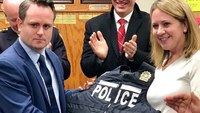 NYPD unveils lighter body armor for detectives