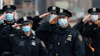 NYC mayor delays vaccine mandate for cops, firefighters
