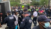 Video: At least 70 arrested at NYC protest over Minn. in-custody death