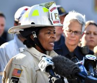 Oakland fire chief on leave for second time