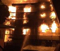 Massive 5-alarm fire guts Calif. construction site