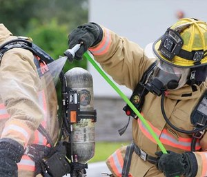 Orange County firefighters became the first in Central Florida to receive decontamination kits. (Photo/OCFR)