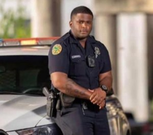 This image shows former Miami Police Officer Aubrey Johnson.