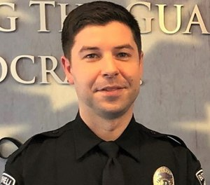 Officer Jonathan Shoop was fatally shot after a pursuit in a Seattle suburb July 13, 2020. (Photo/Bothell Police Department)
