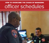 How to overcome the chaos of managing officer schedules (white paper)