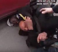 Video: Suspect stabs Calif.officer inneck during arrest