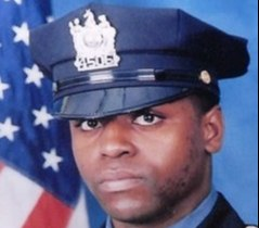 Officer Tyron Franklin, 23, was shot and killed during a robbery attempt on January 7, 2007. (Photo/Paterson Police Department)