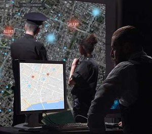 The AppTrac-365 enables departments to monitor and locate officers in real time.