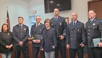 Ohio fire, EMS crews honored for rescuing boy with Down syndrome from house fire