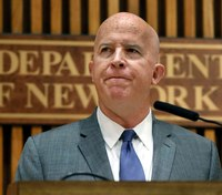 NYPD commissioner James O'Neill to retire