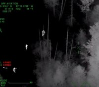 Video: Ontario LEOs find missing boy using night vision from helicopter