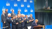 Trump thanks chiefs, officers for their service at IACP 2019