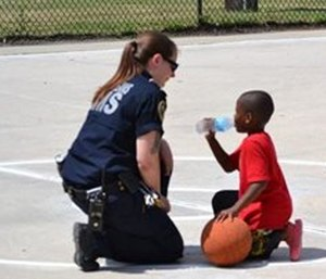 Late summer outreach might focus on child safety as the school year begins.