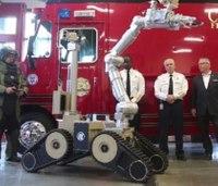 Fla. fire dept. shows off its new bomb-squad robot