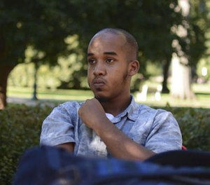 This August 2016 image provided by TheLantern.com shows Abdul Razak Ali Artan in Columbus, Ohio. (Kevin Stankiewicz/TheLantern.com via AP, File)