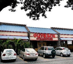 An Outback Steakhouse is shown Tuesday, June 5, 2007, in Brandon, Fla.
