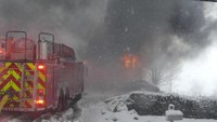 4 challenges to fighting fire in the snow