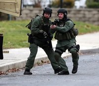 6 dead, suspect on loose in suburban Philly