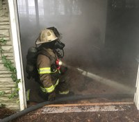 How to conduct firefighter primary search training