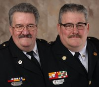 Firefighter brothers laid to rest in joint funeral